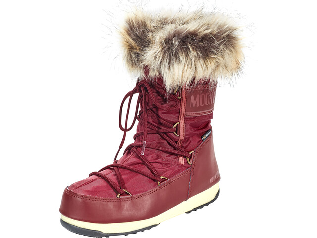 sports shoes a6f3c 01bf0 Moon Boot Monaco Low WP Boots Women port royal